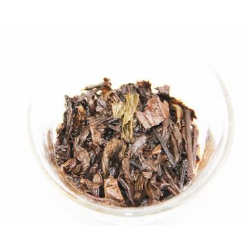 fragrant pu 'er Sharply dyu Jujube sweet tea brick Keeping in good health To lose weight Ripe tea