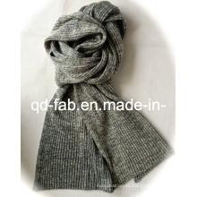 Knit moda de cáñamo / bufanda de algodón orgánico para las mujeres o la señora (HCS-5545)