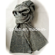 Knit Fashion Hemp/Organic Cotton Scarf for Women or Lady (HCS-5545)