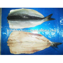 Frozen dried herring fillets