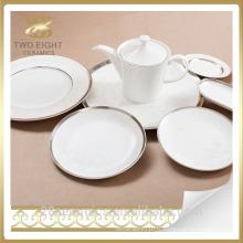 Ensembles faits sur commande de vaisselle, plat de dîner de restaurant à vendre