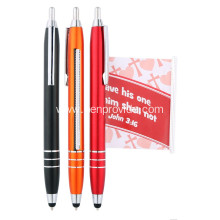 Luxury Metal Banner Pen with Stylus