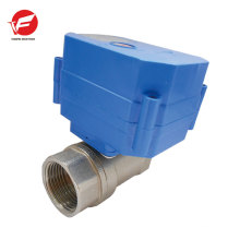 Stainless steel water shut off automatic ball valve