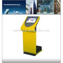 Touch Screen Enclosure, Aufzugstaste