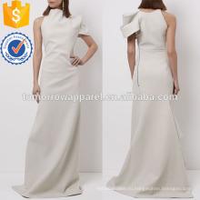 Слоновая кость на одно плечо платье Производство Оптовая продажа женской одежды (TA4052D)