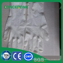Gants chirurgicaux stérilisés jetables médicaux de latex sans poudre