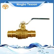 Válvulas de esfera de China fornecedor alta qualidade sistema de prensa