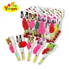 Animal Toy With Balloon Tray Toy Candy