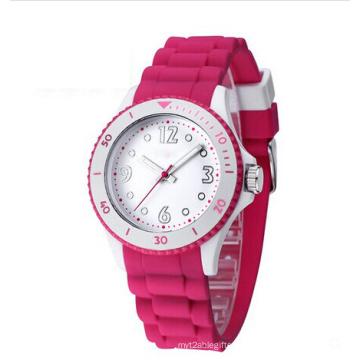 Fashion Ladies OEM/ODM Silicon Diamond Watch