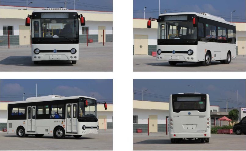 Dongfeng electric city bus