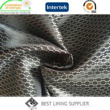 100 Polyester 120G / M Satin Dobby doublure tissu pour hommes