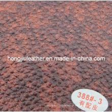 Sofá grande estilo com couro sipi grosso (Hongjiu-388 #)