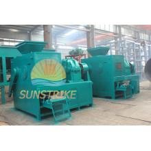 Machine efficace de presse de briquette de boule de poudre de coke