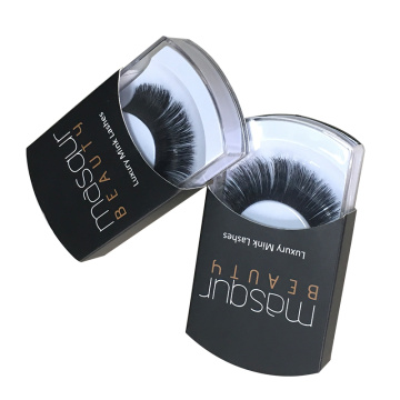 Private Label Mink Lashes Plastic Box Sleeve