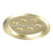 Custom made electric heater brass 6 holes flange