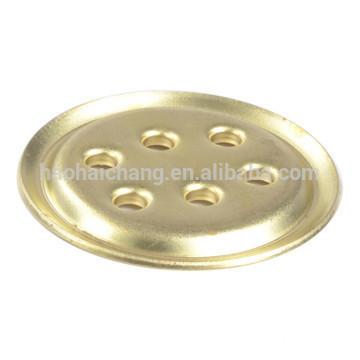 Custom made electric heater brass 6 holes flange