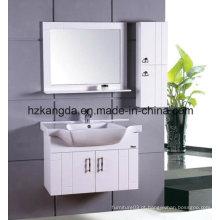 Armário de banheiro de madeira maciça / vaidade de banheiro de madeira maciça (KD-426)
