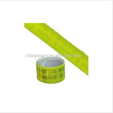 EN13356 Bande de bras réfléchissante avec ruban PVC