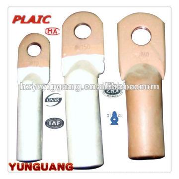 Биметаллический Тип сжатия медь алюминий клеммы наконечники силового кабеля совместные части электрической распределительной арматуры
