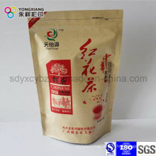 Stand up Paper Laminated Plastic Packaging Tea Bag