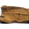 Европейские мужские повседневные брюки рабочие брюки с коленом