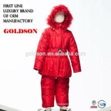 Открытый зимняя детская одежда куртка и брюки