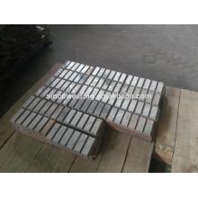 Wearing Button Mn13Cr2 Mn18Cr2 Mn22Cr2 High Chrome Cr26 Cr20Mo Cr15Mo Martensitic Manganese Ceramic HP Series