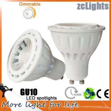 7W Светодиодные лампы Светодиодные пятно света Dimmable GU10 пятно света