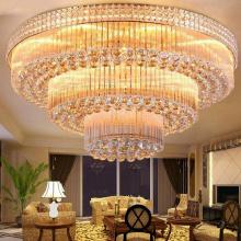 High quality modern K9 crystal glass Pendant Light