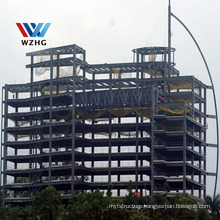 Multi-storey Modern design Commercial Prefabricated Building Steel Structure Hotel