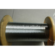 Déchets de fil d'acier de 0,28 mm pour le marché de la Corée du Sud Fil de fer galvanisé à chaud