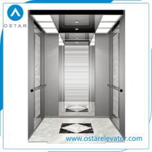 630 ~ 1300kg Edifício de escritórios residencial Usado Elevador de passageiros