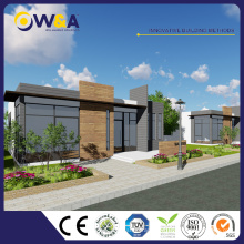 (WAS3505-110S) Maison modulaire préfabriquée en bâtiment pour hôtel Canteen Hébergement en appartement