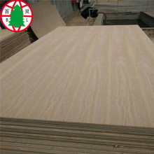 MDF Chanel veneer red oak/ash for furniture