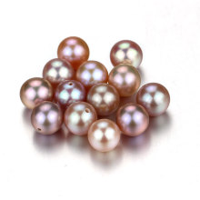 Snh Purple Color 7.5-8mm AAA Best Quality Natural Pearl Beads