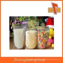 Bolso de plástico PVC personalizado ziplock