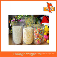 Custom PVC ziplock plastic bag