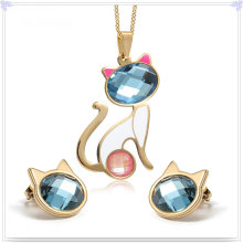Accessoires de mode Bijoux fantaisie Ensemble de bijoux en acier inoxydable (JS0224)