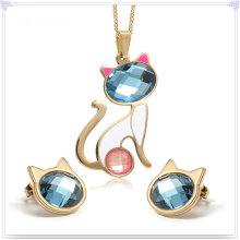 Fashion Accessories Fashion Jewelry Stainless Steel Jewelry Set (JS0224)