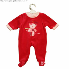 Long sleeve cute romper for baby girls