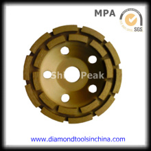 Double Row Cup Grinding Wheel for Polishing Concrete and Floor