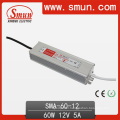 60W Driver Constant Current Power Supply 6-12V 5A