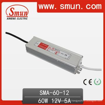 60Вт 12В/24В/36В один выход AC/DC Водонепроницаемый постоянного тока светодиодный драйвер