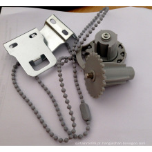 Componentes moderados para estores de rolo