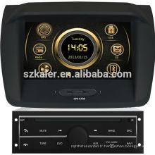 2014 nouveau système de navigation de voiture de conception pour Mitsubishi L200 (bas) avec GPS / Bluetooth / Radio / SWC / virtuel 6CD / 3G / ATV / iPod