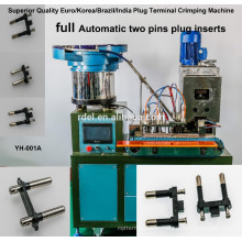 Semi-automatic Three Pin (French, BS, America) Power Cord Plug Making Machine