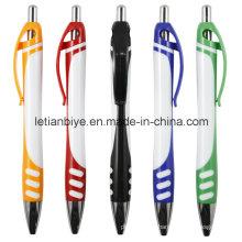 Plástico caneta esferográfica como item de promoção (LT-C428)