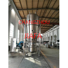 Fluid bed bottom spray coater machine