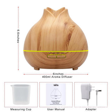 400ml unique Smoothing Scent Spray Mist Aroma Diffuser