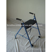 Steel Two Wheeled Rollator